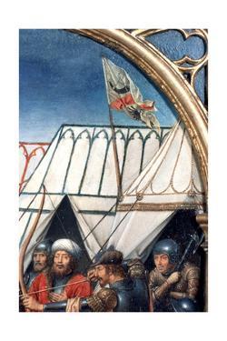 'St Ursula Shrine, Martyrdom at Cologne', Detail, 1489. Artist: Hans Memling by Hans Memling