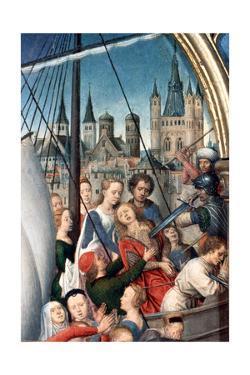 'St Ursula Shrine, Martyrdom', Detail, 1489. Artist: Hans Memling by Hans Memling
