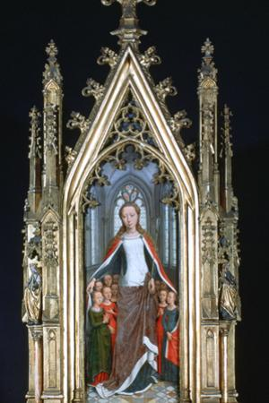 St Ursula Shrine, St Ursula and the Holy Virgins , 1489 by Hans Memling