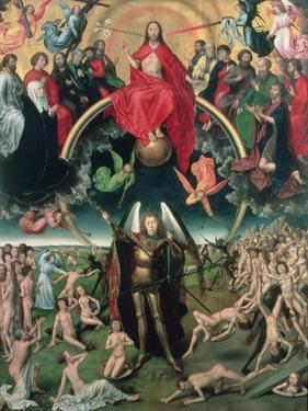 The Last Judgement, 1473 (Central Panel) by Hans Memling