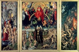 The Last Judgement, 1473 by Hans Memling