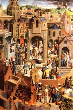 The Passion of Christ by Hans Memling