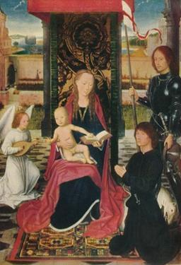 'The Virgin and Child with an Angel', c1480 by Hans Memling