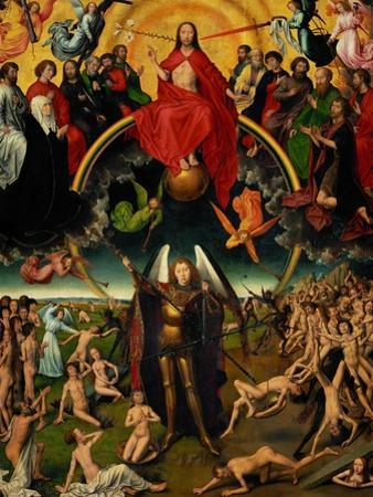 Triptych with the Last Judgement by Hans Memling