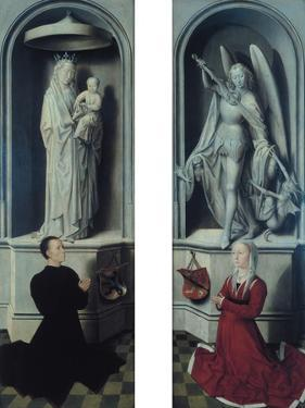 View of the Last Judgement with its Panels Closed by Hans Memling