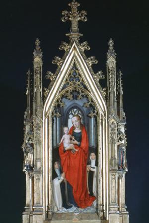 Virgin and Child, St Ursula Shrine, 1489