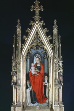 Virgin and Child, St Ursula Shrine, 1489 by Hans Memling