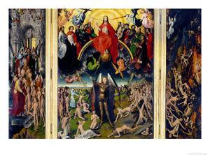 Weighing of the Souls, Triptych of the Last Judgment by Hans Memling