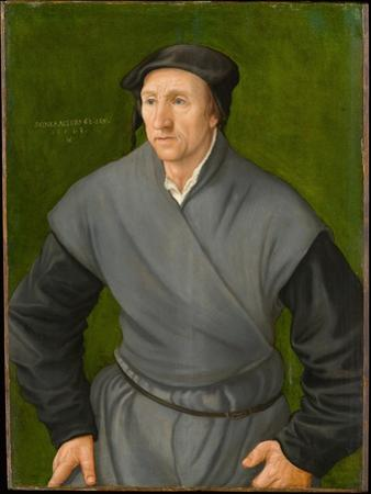Portrait of a Man, 1543 by Hans Muelich Or Mielich