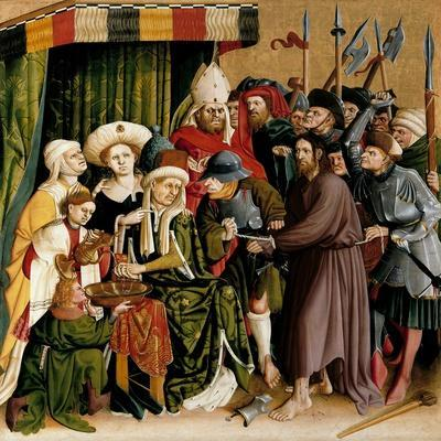Christ before Pilate. the Wings of the Wurzach Altar, 1437
