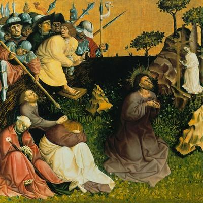 The Agony in the Garden. the Wings of the Wurzach Altar, 1437