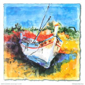 Boat from Algarve I by Hans Oosterban