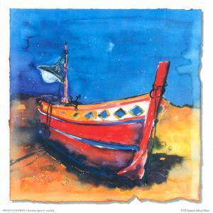 Boat from Algarve II by Hans Oosterban