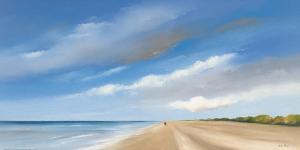 Along The Sea I by Hans Paus