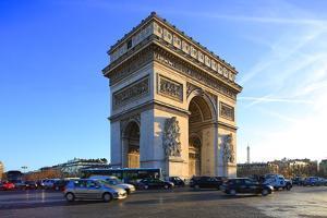 Arc de Triomphe, Paris, France, Europe by Hans-Peter Merten