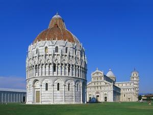 Battistero Di Pisa, Pisa, Tuscany, Italy by Hans Peter Merten