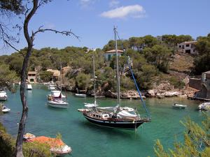 Cala Figuera, Mallorca, Balearic Islands, Spain, Mediterranean, Europe by Hans Peter Merten