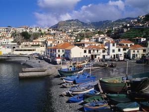 Camara De Lobos Harbour, Madeira, Portugal by Hans Peter Merten