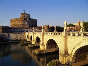 Castle San Angelo, Rome, Italy by Hans Peter Merten