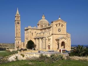 Cathedral Ta Pinu Near Gharb, Gozo, Malta, Mediterranean, Europe by Hans Peter Merten