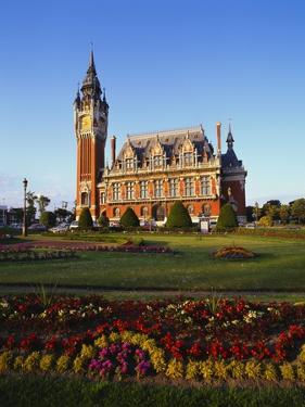 City Hall, Calais, Pas De Calais, Picardy, France by Hans Peter Merten