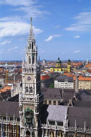 City Hall, Marienplatz, Bavaria, Germany, Europe