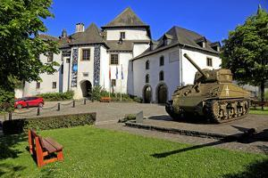 Clervaux Castle, Canton of Clervaux, Grand Duchy of Luxembourg, Europe by Hans-Peter Merten