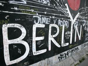 East Side Gallery, Berlin Wall Museum, Berlin, Germany, Europe by Hans Peter Merten