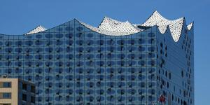 Elbe Philharmonic Hall, Hamburg, Germany, Europe by Hans-Peter Merten