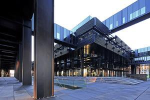 European Court of Justice on Kirchberg in Luxembourg City, Grand Duchy of Luxembourg, Europe by Hans-Peter Merten
