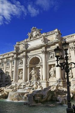Fontana di Trevi, Rome, Lazio, Italy, Europe by Hans-Peter Merten