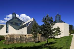 Fort Thuengen with Fortress Museum and Mudam Museum, Luxembourg City, Grand Duchy of Luxembourg, Eu by Hans-Peter Merten