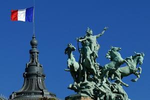 French Flag by Hans Peter Merten
