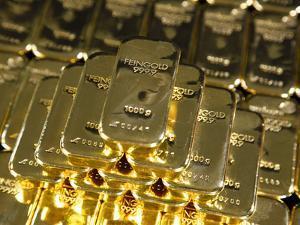 Gold Ingots, Frankfurt, Germany, Europe by Hans Peter Merten