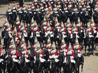 Horse Guards at Trooping the Colour, London, England, United Kingdom