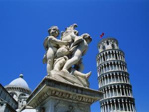 Leaning Tower of Pisa, Pisa, Italy, Europe by Hans Peter Merten