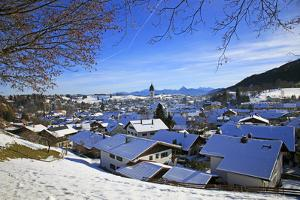 Nesselwang, Allgau, Bavaria, Germany, Europe by Hans-Peter Merten