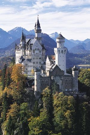 Neuschwanstein Castle, Allgau, Germany by Hans Peter Merten
