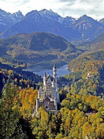 Neuschwanstein Castle near Fussen, Bavaria by Hans Peter Merten