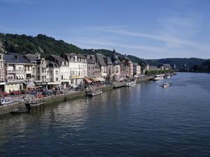 Old Town, Dinant, and River Meuse, Ardennes, Belgium by Hans Peter Merten
