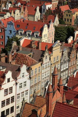 Old Town of Gdansk, Gdansk, Pomerania, Poland, Europe by Hans-Peter Merten