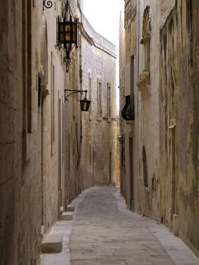 Old Town of Mdina, Malta, Mediterranean, Europe by Hans Peter Merten
