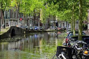 Oosteinde, Delft, South Holland, Netherlands, Europe by Hans-Peter Merten