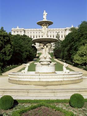 Palacio Real, Madrid, Spain by Hans Peter Merten