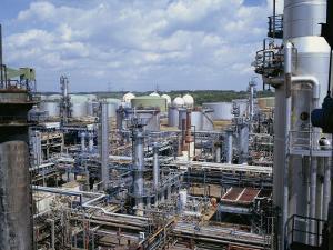 Petro-Chemical Plant by Hans Peter Merten