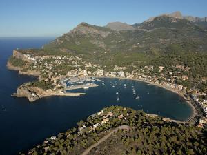 Port De Soller, Mallorca, Balearic Islands, Spain, Mediterranean, Europe by Hans Peter Merten