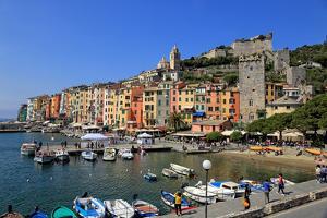 Portovenere, Italian Riviera, UNESCO World Heritage Site, Liguria, Italy, Europe by Hans-Peter Merten