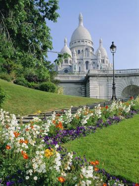 Sacre Coeur, Paris, France, Europe by Hans Peter Merten