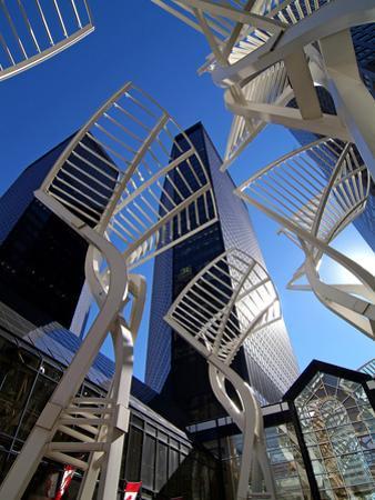 Stephen Avenue, Calgary, Alberta, Canada, North America by Hans Peter Merten