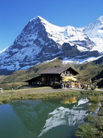 The Eiger, Kleine Scheidegg, Bernese Oberland, Swiss Alps, Switzerland by Hans Peter Merten